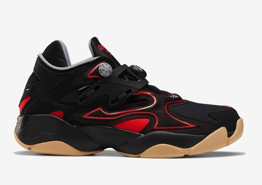 The Reebok Pump Court Arrives In Black And Instinct Red On August 1st