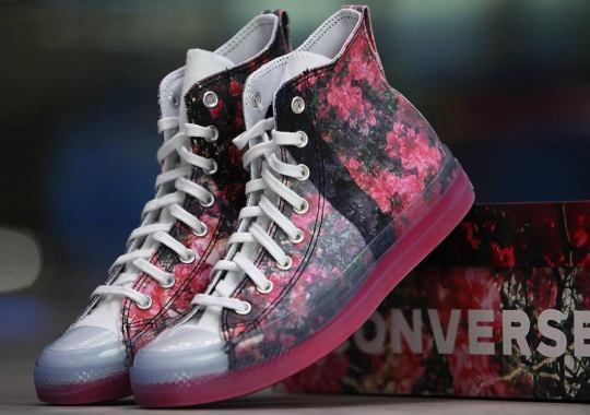 Shaniqwa Jarvis Covers Her Converse Chuck 70 Collaboration With A Floral Print
