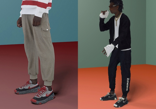 UNDERCOVER Teases Nike ISPA OverReact Collaborations In SS21 Collection