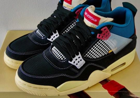 First Look At The UNION LA x Air Jordan 4