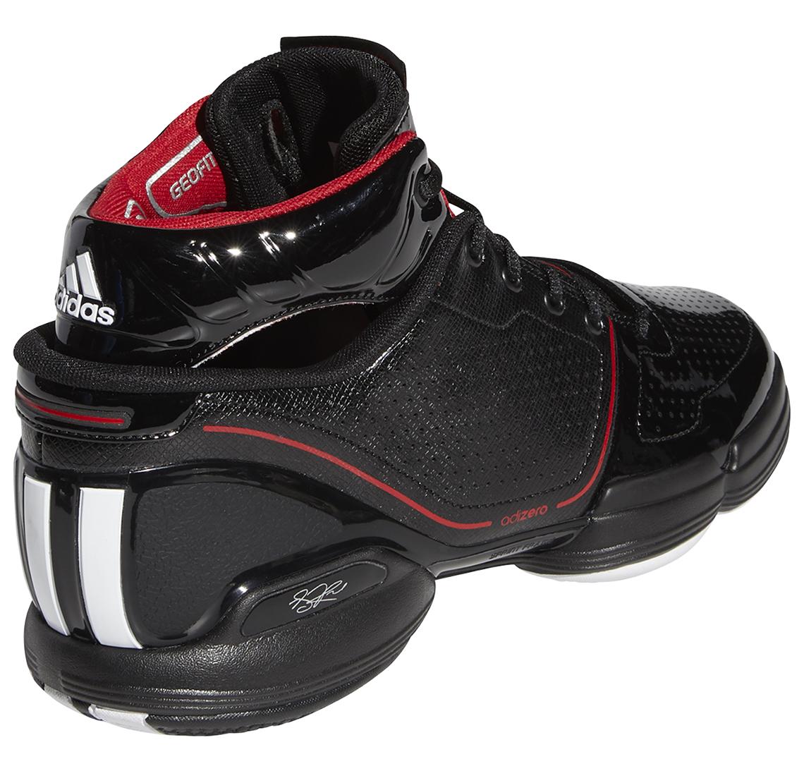 adidas Adizero Rose 1 Black Red FW7591