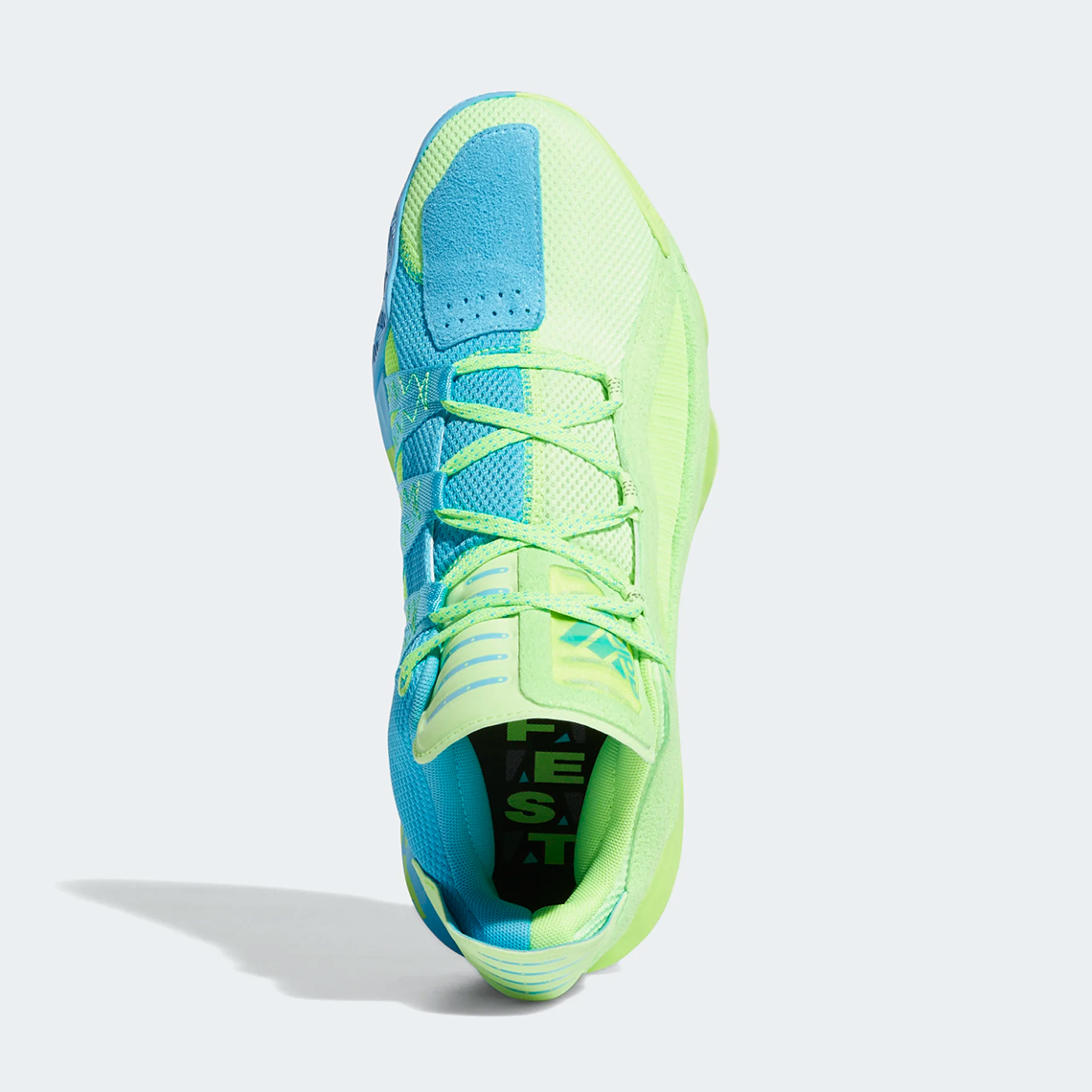 popurrí añadir Omitido  adidas Dame 6 Jam Fest Signal Green Cyan FW4507   SneakerNews.com