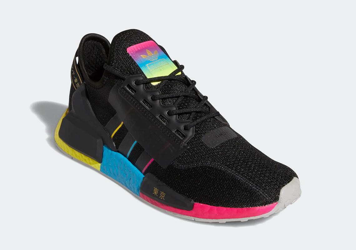 Adidas Nmd R1 V2 Tokyo Nights Fy1251 Sneakernews Com
