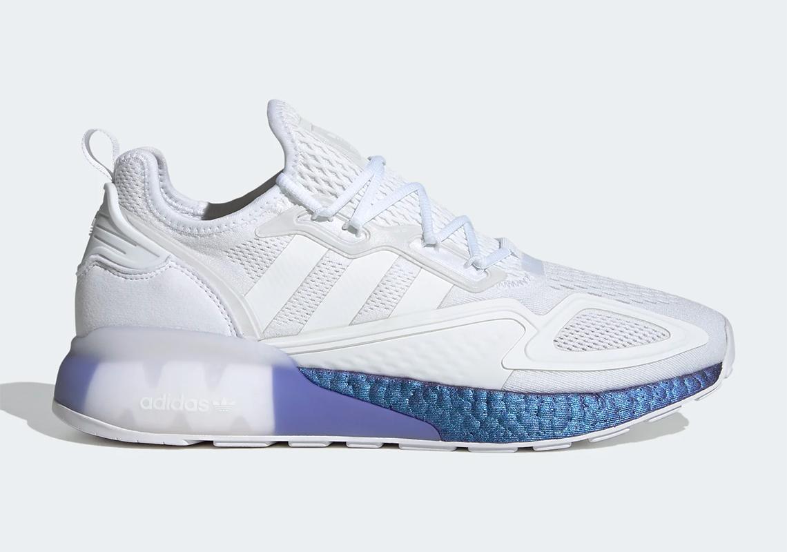 adidas ZX 2K Boost White Violet FV2928 | SneakerNews.com