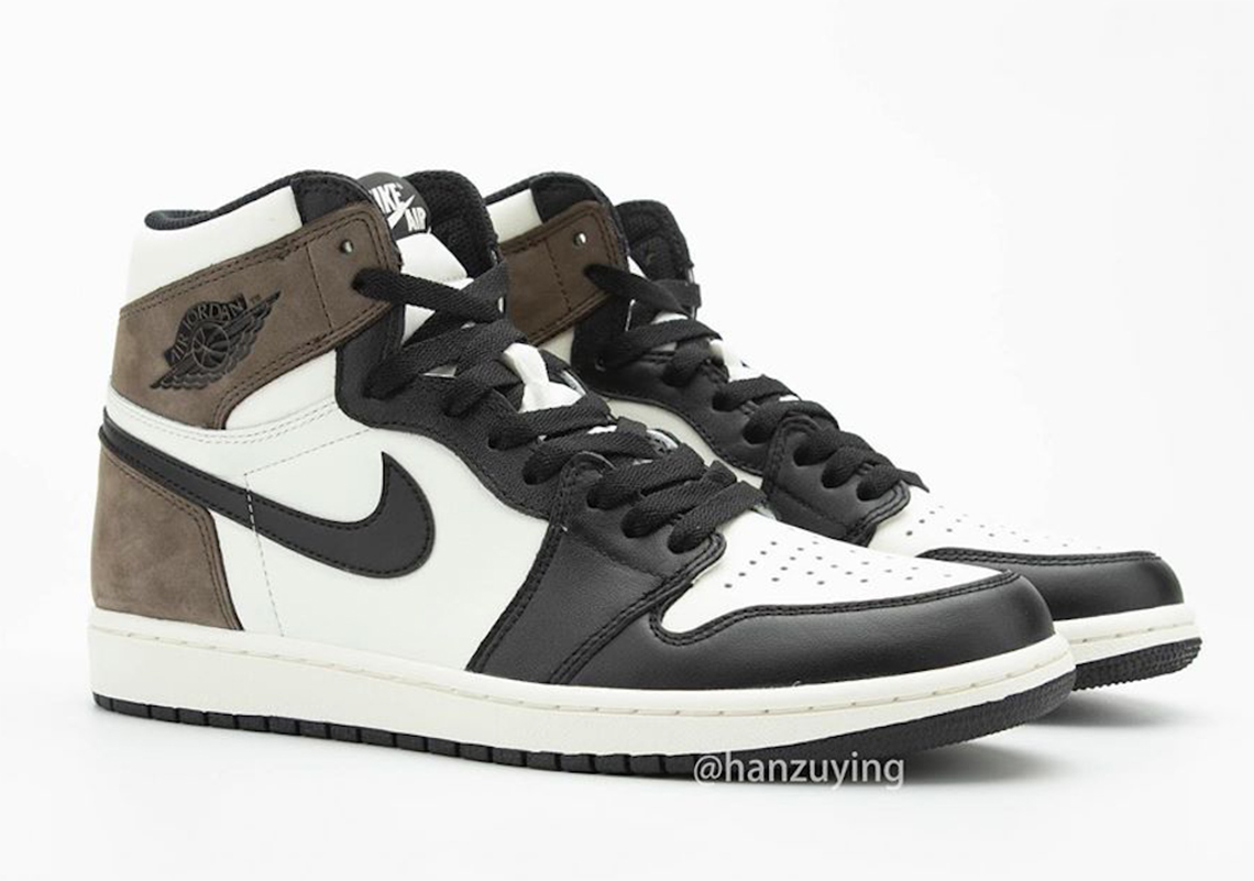 air jordan 1 high dark mocha 555088 105 sneakernews com air jordan 1 high dark mocha 555088 105