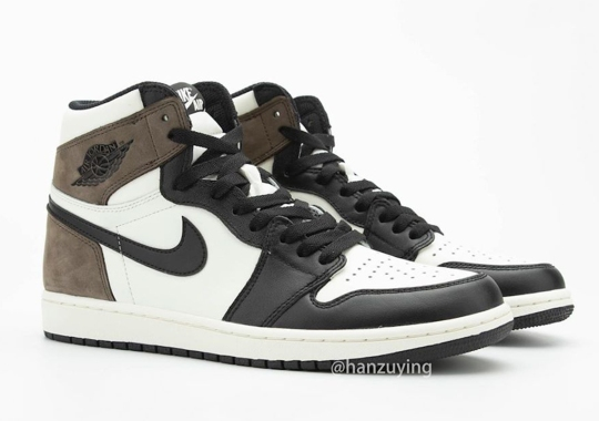"Detailed Look At The Air Jordan 1 Retro High OG ""Dark Mocha"""