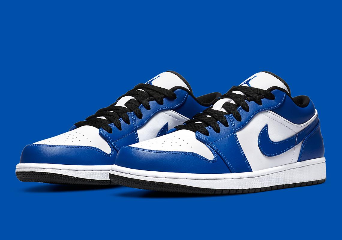 Air Jordan 1 Low Game Royal 553558-124 | SneakerNews.com