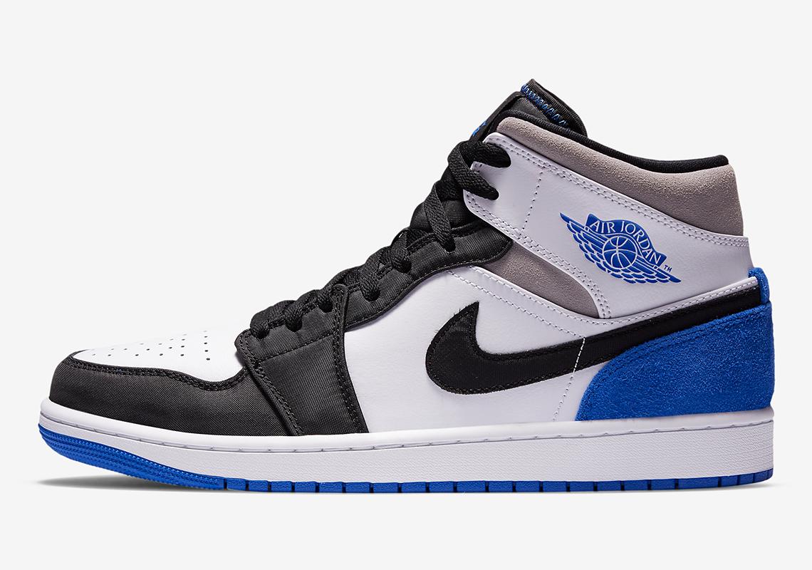 cocaína Señor sentido  Air Jordan 1 Mid SE Royal 852542-102 Release Info | SneakerNews.com