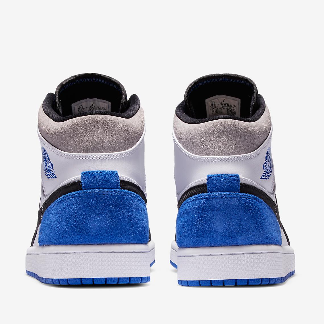 Air Jordan 1 Mid SE Royal 852542-102 Release Info | SneakerNews.com