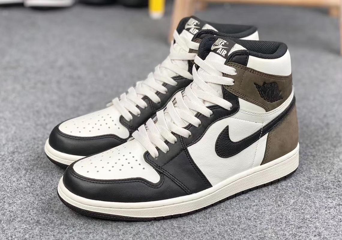 Air Jordan 1 Dark Mocha 555088-105 Release Date ...
