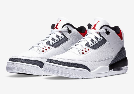 "Air Jordan 3 ""Japanese Denim"" Is Releasing On August 27th"