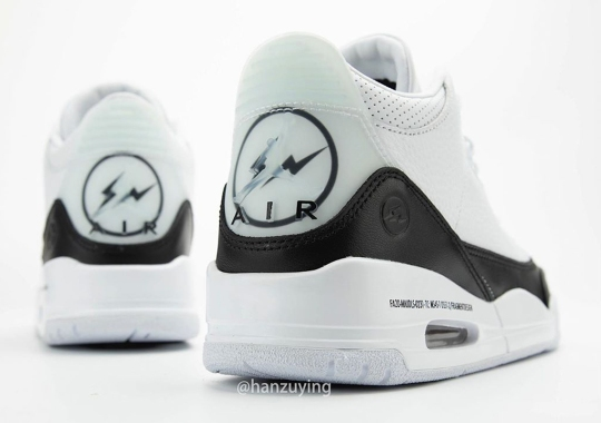 Fragment x Air Jordan 3 Rumored For Release Later This Year
