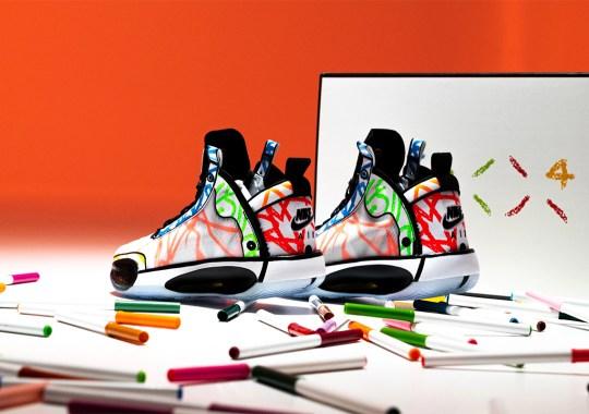 "Sneaker Politics Hosts Drawing Contest For Zion Williamson's Air Jordan 34 ""Noah"" PE"