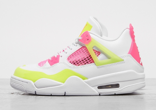 "Air Jordan 4 ""Lemon Venom"" Releasing Exclusively For Girls In August"
