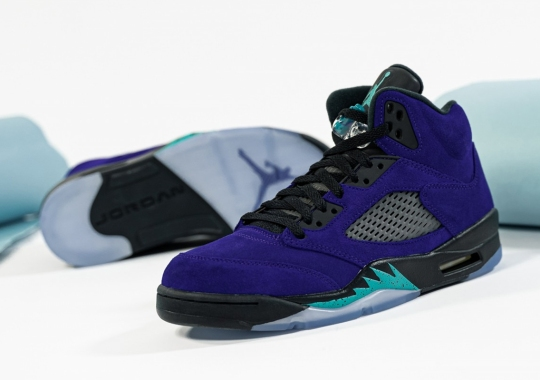 "The Air Jordan 5 ""Alternate Grape"" Releases Tomorrow"