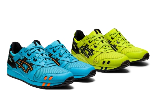 The ASICS GEL-Lyte III Dresses Two Neon Colorways With Kayano-Styled Stripes