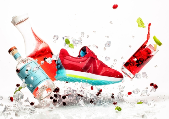 """The Concepts x New Balance 327 """"Cape"""" Is Inspired By Vodka Cranberry Cocktails"""