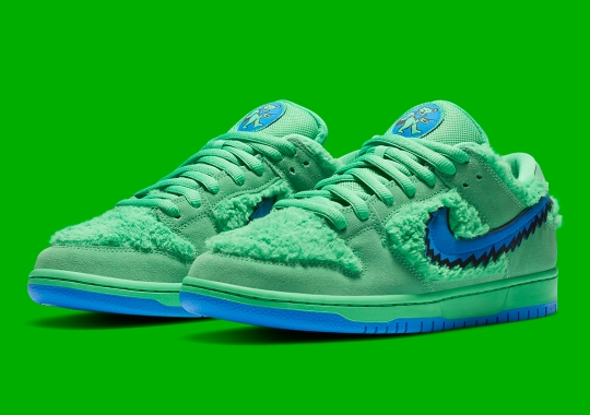 "The Grateful Dead x Nike SB Dunk Low ""Green"" Is A Skate-shop Exclusive"