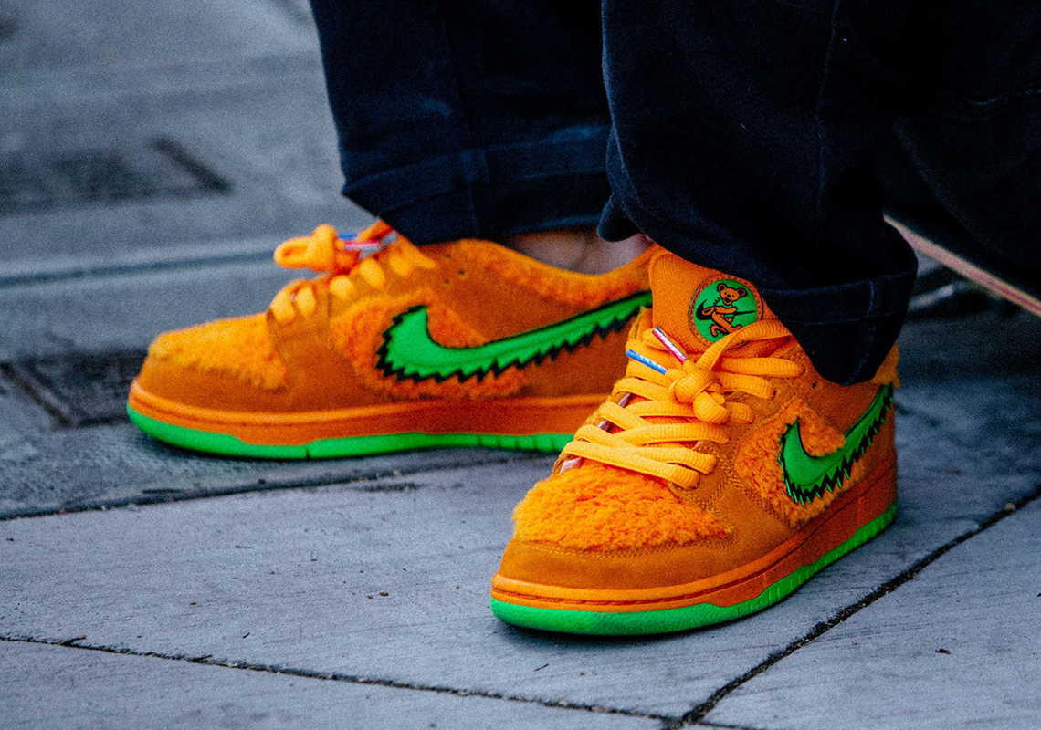 Grateful Dead Nike SB Dunk Orange Release Info CJ5378-800 ...