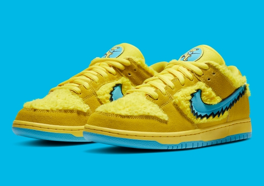 "The Grateful Dead x Nike SB Dunk Low ""Yellow"" Will Release At Skate-shops And SNKRS"