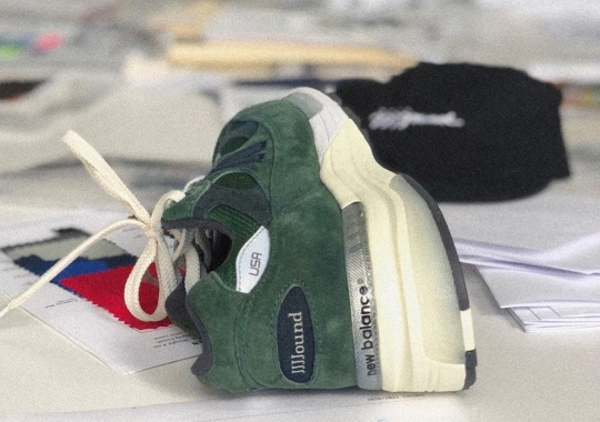 JJJJound Further Teases Their Green New Balance 992 Collaboration