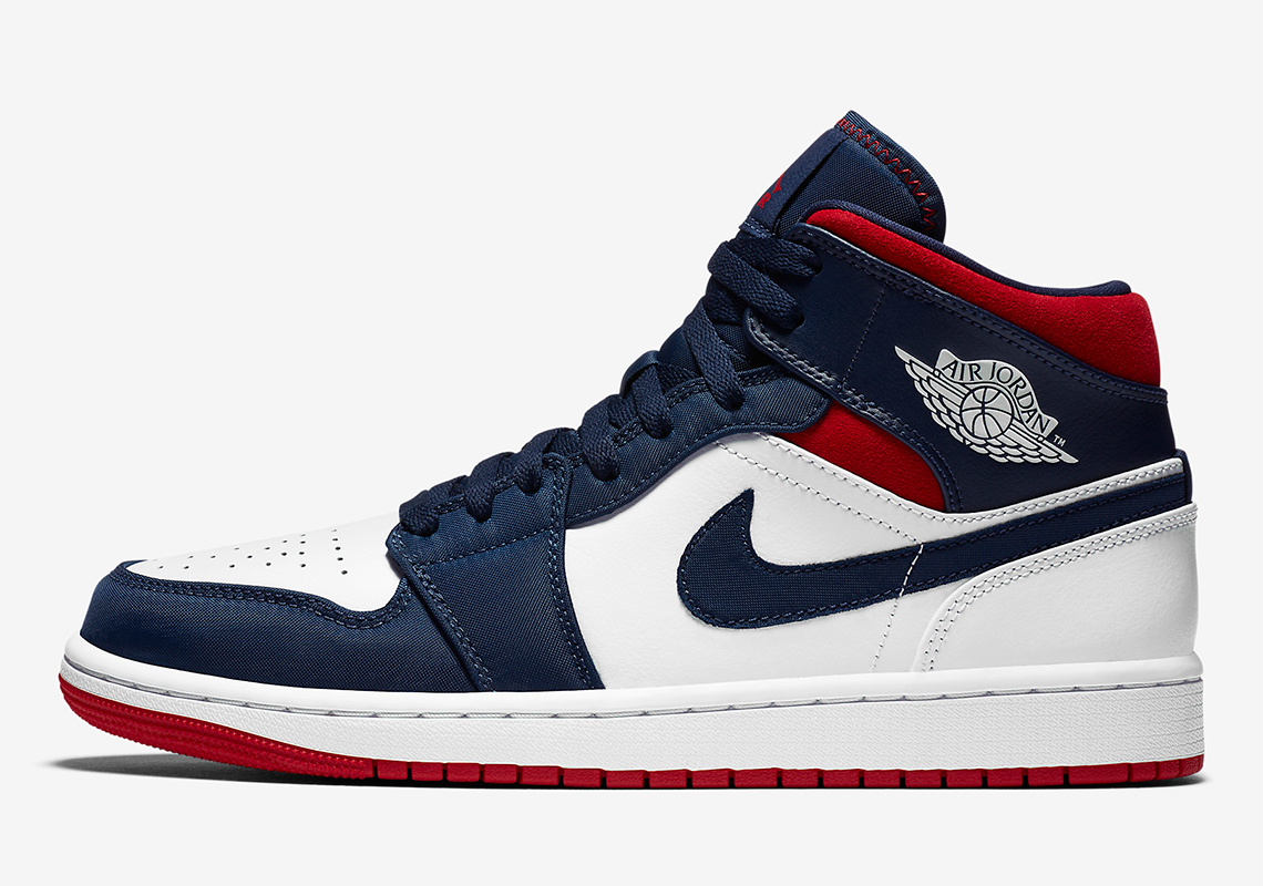 Air Jordan 1 Mid SE USA 852542-104 | SneakerNews.com