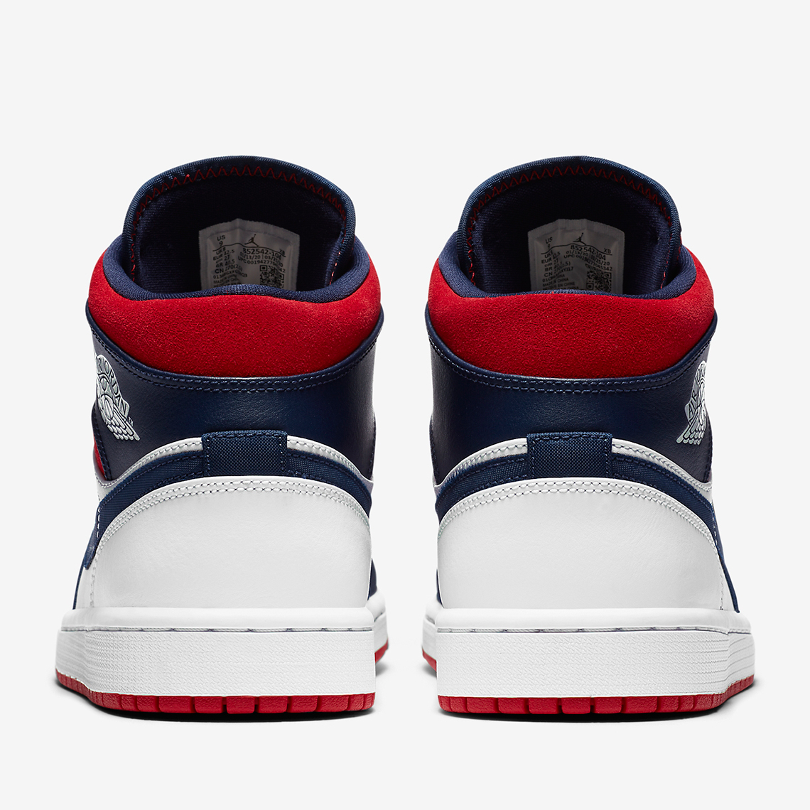 red white and blue ones