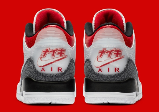 "Japan-Exclusive Air Jordan 3 Retro SE ""Denim"" Features Custom Heel Logos"