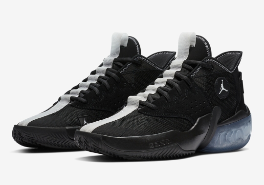 The Jordan React Elevation Basketball Shoe Emerges In Black