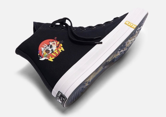 Ronnie Fieg Reveals New KITH x Looney Tunes x Converse Chuck '70 Collaboration