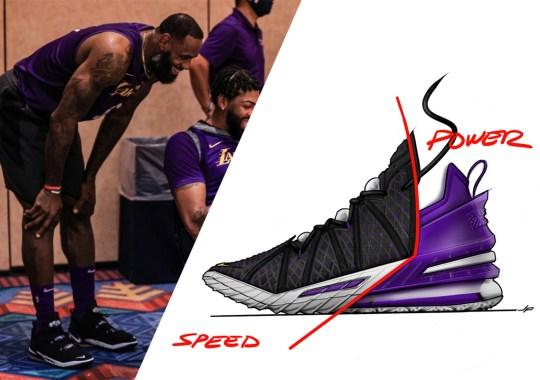 LeBron James And Nike Debut The Nike LeBron 18