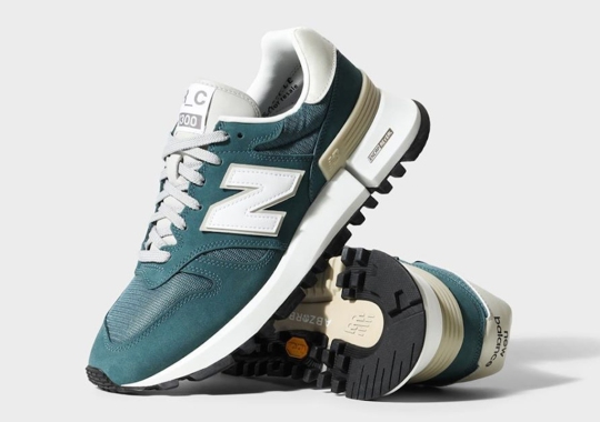 The New Balance R_C 1300 Tokyo Studio Is Arriving In Teal