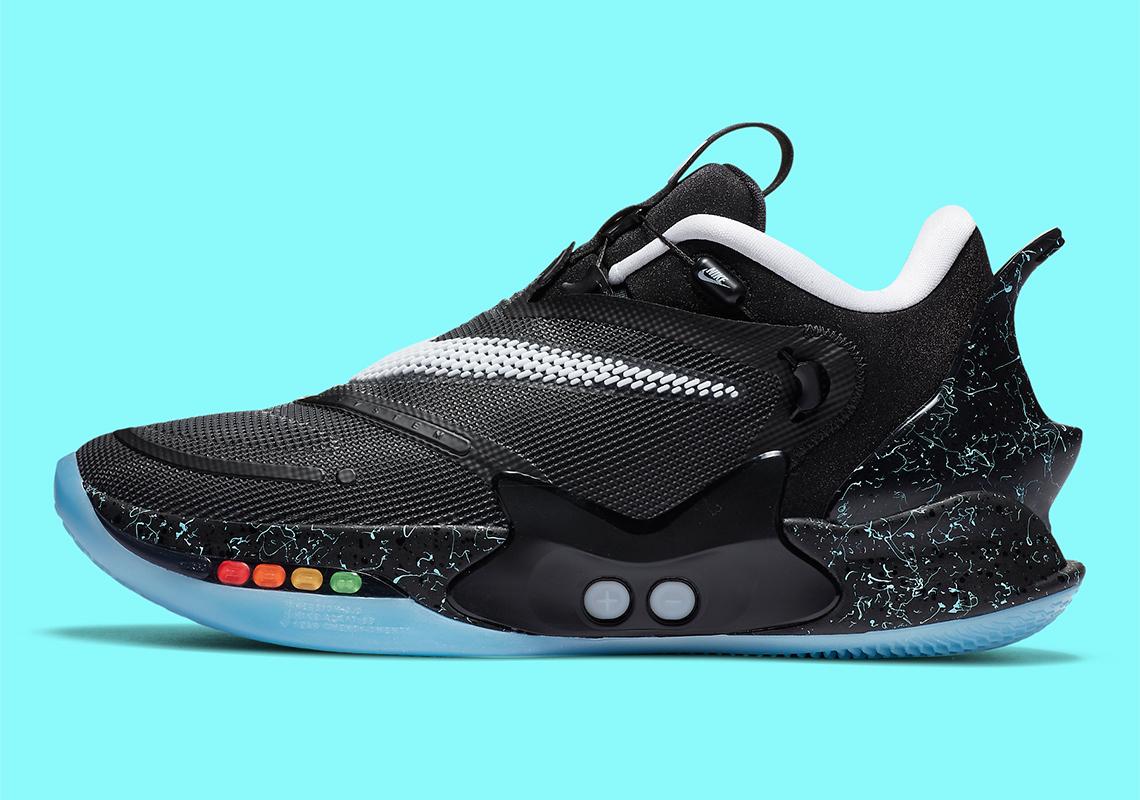 Nike Adapt Bb 2 0 Mag Black Blue Cv2441 002 Sneakernews Com