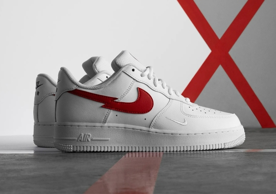 "The Nike Air Force 1 Low ""Euro Tour"" Gets Metal With The Swoosh"