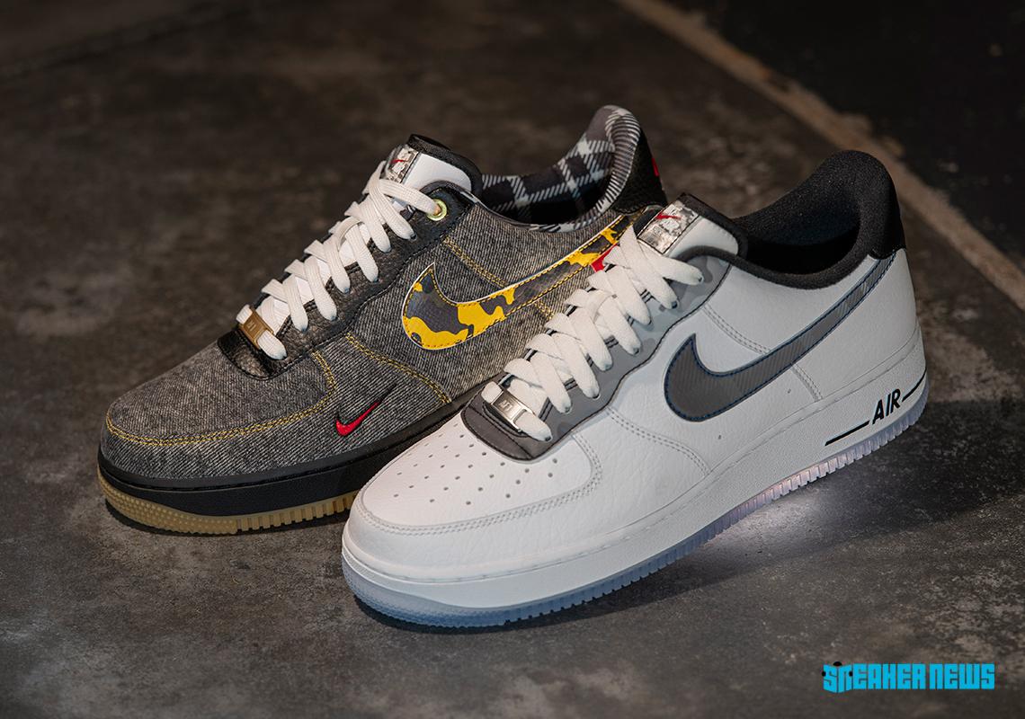 Nike Air Force 1 Footlocker Remix Pack Release Date Sneakernews Com
