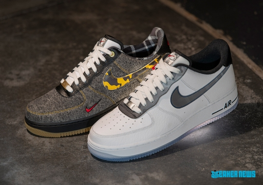 """Two Nike Air Force 1s Planned For Foot Locker's Exclusive """"Remix Pack"""""""