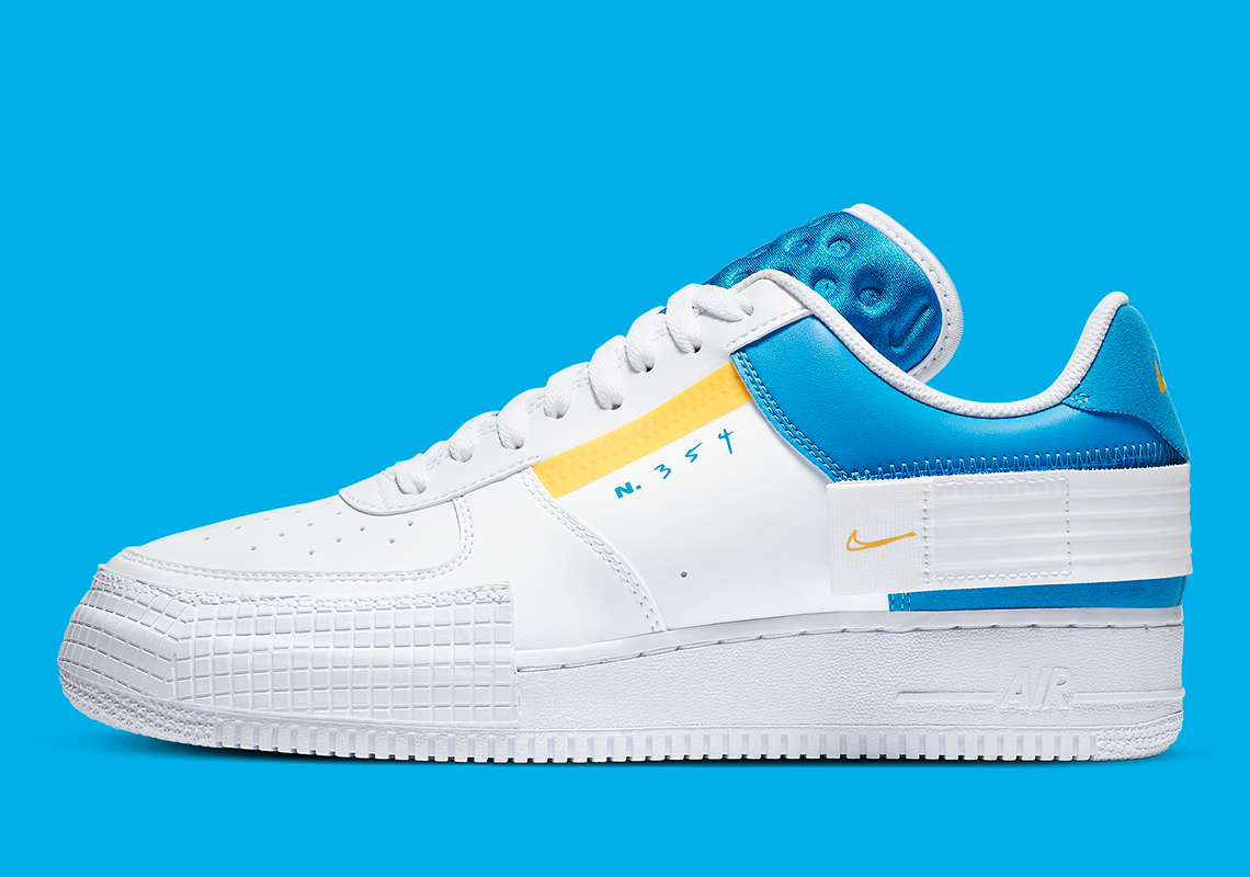 air force 1 giallo pastello