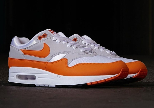 The Nike Air Max 1 Anniversary Is Dropping Soon In Orange