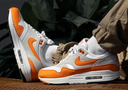 """Where To Buy The Nike Air Max 1 """"Magma Orange"""""""