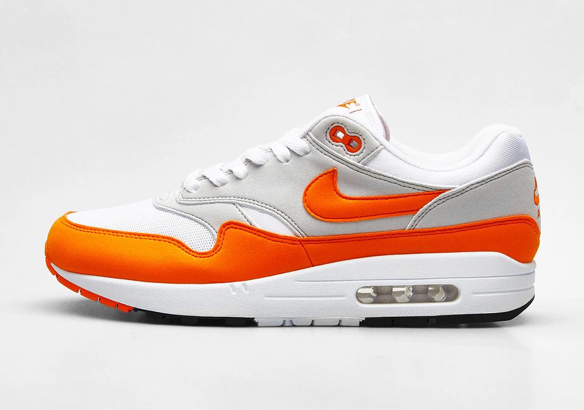 Nike Air Max 1 Magma Orange Evergreen | SneakerNews.com