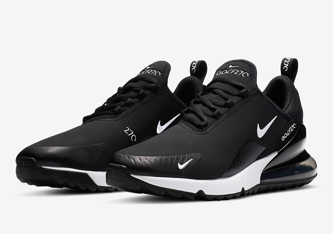 Nike Air Max 270 Golf Black White Ck6483 001 Sneakernews Com