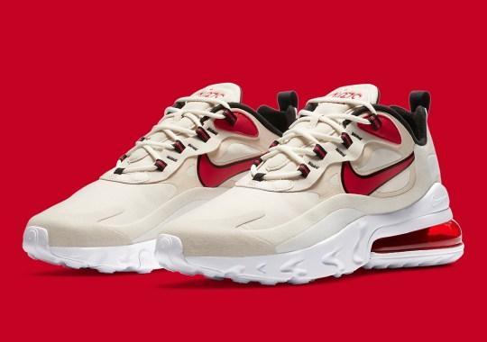 "The Nike Air Max 270 React ""Light Orewood Brown"" Is Releasing Soon"