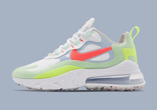 Nike Adds Regrind Soles To This Air Max 270 React