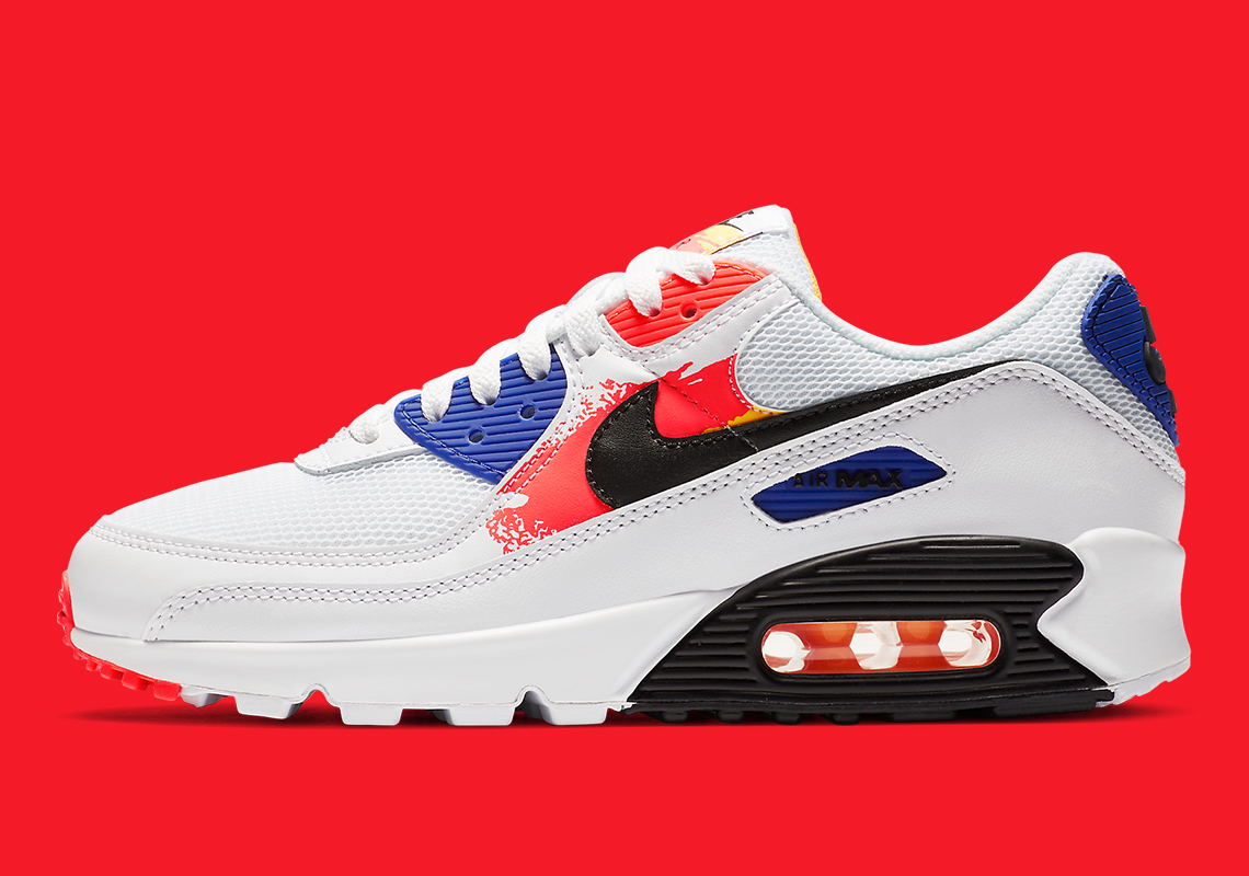 Nike Air Max 90 Red White Blue CZ7937-100 Release Info ...