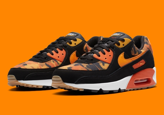 Camo Prints Appear On Ripstop Nylon On This Upcoming Nike Air Max 90