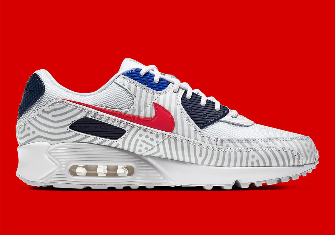 Nike Air Max 90 Euro Tour CW7574-100 Release Info | SneakerNews.com