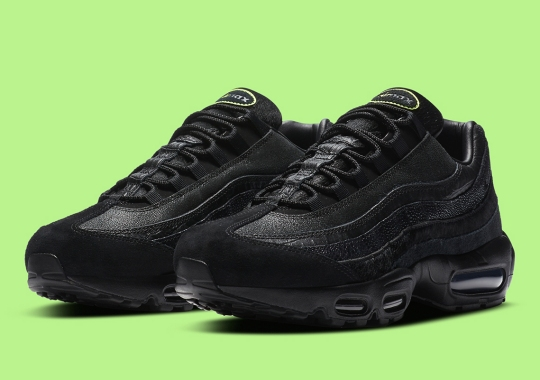 Nike Continues Its Lux Exotic Treatment On The Air Max 95
