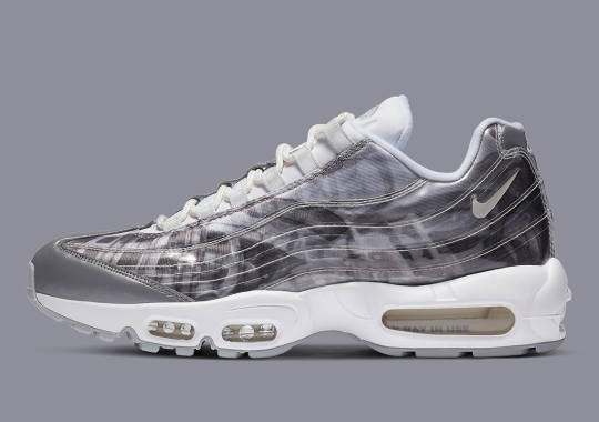 Nike Adds Footprints Of The Air Max 95 Beneath A Transparent Upper