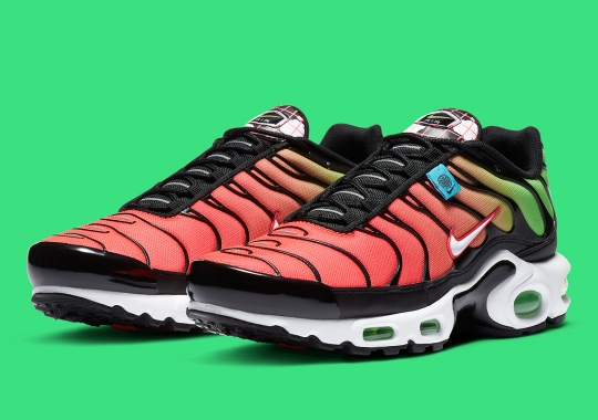 "Gradient Fades Included In The Nike Air Max Plus ""Worldwide"" Pack"