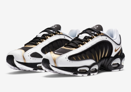 Black And Gold Cover The Latest Nike Air Max Tailwind 4